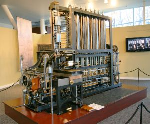 Babbage_Difference_Engine_