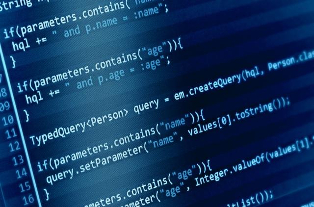 computer code example